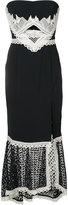 Jonathan Simkhai long bandeau dress - women - Silk/Spandex/Elastane/Acetate/Viscose - 4