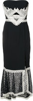 Jonathan Simkhai long bandeau dress - women - Silk/Spandex/Elastane/Acetate/Viscose - 8