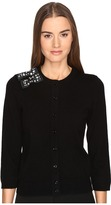 Kate Spade Embellished Bow Cardigan Women's Sweater