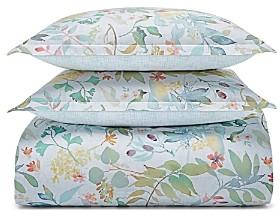 Sky Gardenia Duvet Cover Set, Full/Queen
