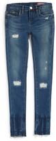 Blank NYC Girl's Blanknyc Rip & Repair Skinny Jeans