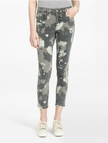 Calvin Klein Ultimate Skinny Abstract Camo Ankle Jeans