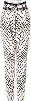 Marc by Marc Jacobs Radio Waves Printed Pants