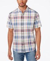 Tommy Bahama Men's Pita Plaid Pocket Shirt