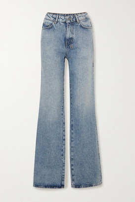 Ksubi Kicker Jinx High-rise Wide-leg Jeans - Mid denim