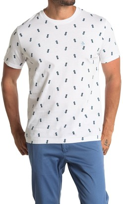 Original Penguin Knit AOP Print T-Shirt