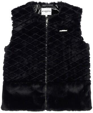 Givenchy Faux Fur Vest