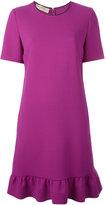 Emilio Pucci ruffled hem dress - women - Spandex/Elastane/Virgin Wool - 42