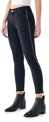 DL1961 Florence Crop Mid-Rise Skinny Jeans