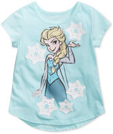 Disney Disney's Frozen Princess Elsa Cotton T-Shirt, Toddler & Little Girls (2T-6X)