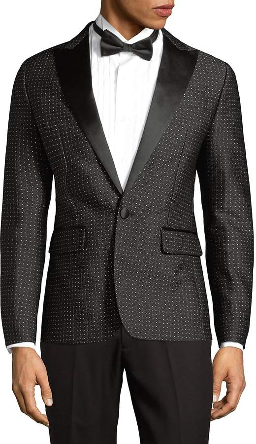 DSQUARED2 Men's Beverly Micro Dot Jacket