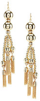 Anna & Ava Sue Chain-Tassel Statement Earrings
