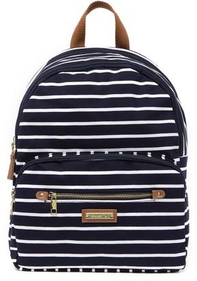Madden-Girl Striped Jersey Backpack
