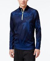 Tommy Bahama Men's Night Palms Half-Zip Shirt