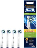 Oral-B Oral B CrossAction® Replacement Electric Toothbrush Heads 4 counts