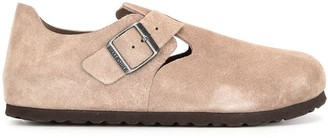 Birkenstock London suede shoes