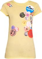 Stella McCartney Badges-print cotton-jersey T-shirt