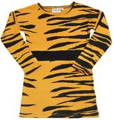 Mini Rodini Animalier Cotton Jersey Dress