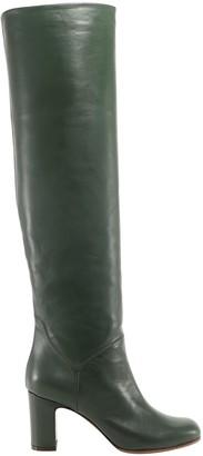 L'Autre Chose Slip-on Knee-high Boots