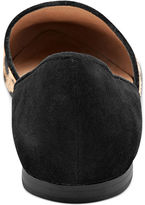 Steve Madden Women's Shoes, Vamp Faux-Fur Flats