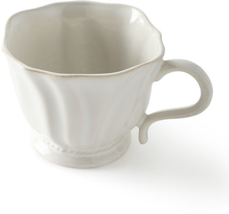 Juliska Madeleine Whitewash Coffee/Tea Cup