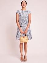 J.Mclaughlin Francine Dress in Indigo Leaflet