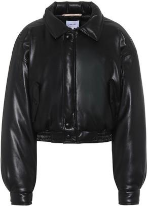 Nanushka Bomi faux-leather jacket
