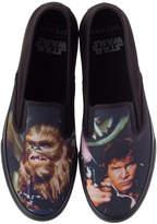 Sperry Star Wars Men's Cloud Slip-on Han and Chewie Sneakers