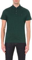 Michael Kors Liquid Cotton-jersey Polo Shirt