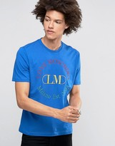 Love Moschino Embroidered Milano 2008 T-shirt