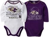 Gerber Baltimore Ravens Two-Piece Long-Sleeve Bodysuit Set - Infant