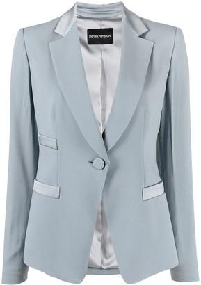 Emporio Armani Tailored Single-Breasted Jacket