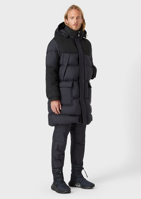 Giorgio Armani Neve Jacket In Superlight Opaque Nylon