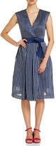 Sportscraft Signature Stripe fit and flare dress