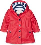Hatley Girl's Splash Jacket-Red Raincoat
