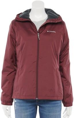 Columbia Women's Switchback Sherpa-Lined Hooded Rain Jacket