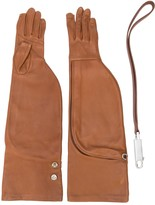 Rick Owens long Larry gloves