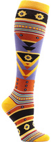 Ozone Women's Tribal Triangles Knee High Socks
