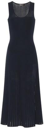 Loro Piana Tangery silk and cotton midi dress