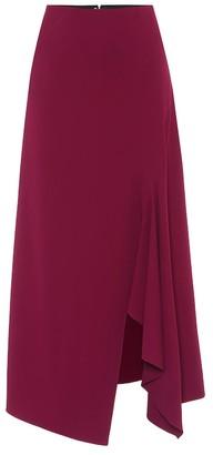 Roland Mouret Whiteleaf stretch-crepe midi skirt