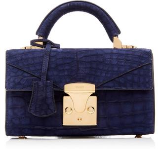 Stalvey Exclusive Top Handle 2.0 Alligator Shoulder Bag