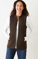 J. Jill Quilted & Knit Vest