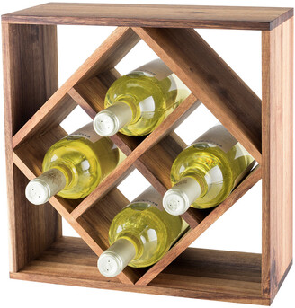 Twine Acacia Wood Wine Rack