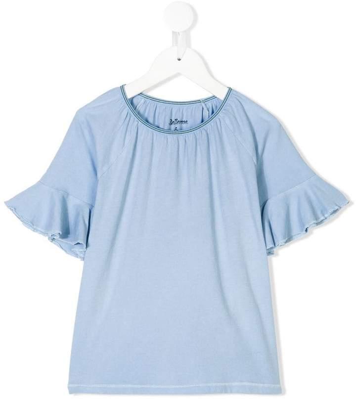 Bellerose Kids ruffle sleeve T-shirt