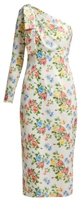 Emilia Wickstead Nadia Floral-print Dress - Womens - Multi