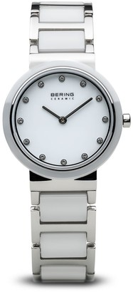 Bering Womens Analogue Quartz Watch with Stainless Steel Strap 10729-754