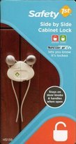 Safety 1st Side by Side Cabinet Lock by 1-pack)