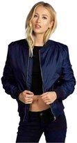 DaySeventh Fashion Women Casual Zipper Vintage Blazer Jacket Coat Outwear (L, )