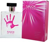 Giorgio Beverly Hills 90210 Touch of Pink for Women-3.4-Ounce EDT Spray
