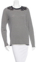 Tory Burch Wool Striped Top